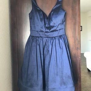 Navy Blue Short Formal Dress